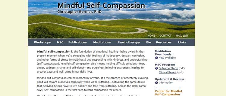 chris germer mindfulness compassionate mind