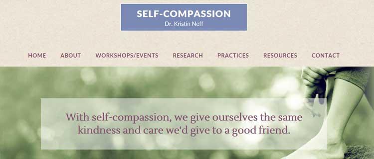 kristen neff mindfulness mindfulness online resources