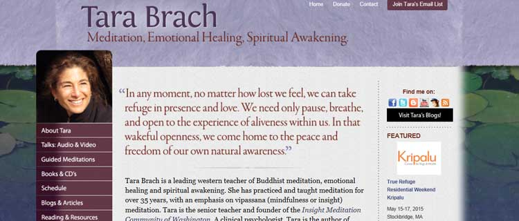 tara brach mindfulness clinic therapy and training