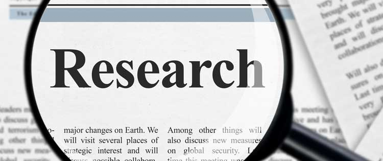 mindfulness clinic research depression newspaper article magnifying glass