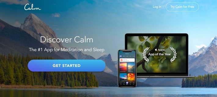 mindfulness app calm
